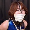 KS15 Cute Japanese Girl Kanon Bound in Latex Swimwear Part4