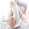 White Long Boots