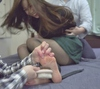 Selection! Too shyly soles «barefoot and pantyhose foot Tickle»