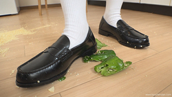 [Food Crush # 32] Aoi-chan who crashes with a loafer. I'll crush to the end ~