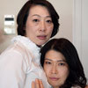 "Maiko x Kaori-""big breasts beautiful mature woman-triangle lesbian kiss II."" from the HD version"