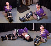 AI5 Busty Japanese Girl Ai Bound in Purple Sweater Part1