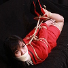 Photoset[#2475] Secretary Bound and Gagged in Red Suit