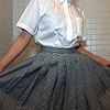 Clothing obsession (uniform pleated skirt 2: wet) video