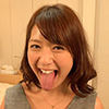Wakaba Onoue - Long Tongue and Mouth Showing