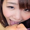[Tongue fetiberofeci] 河音 Walnut erotic long tongues and wild & whole body flip at hand footjob cumshots