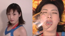 Ayako cum job! Henati and continuous in mouth of ultra excitement! Circle VENOM semen mania