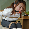YKC1 Tokyo Bondage Classic -Yuki Bound and Gagged in White Boots Part1-