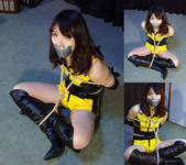 HK8 Japanese Race Queen Hiroko Bound and Gagged Part3