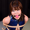 KS14 Cute Japanese Girl Kanon Bound in Latex Swimwear Part3
