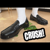 [Crash fetch] hood crash in loafers Tsuji-Chan. Do 踏mi潰shite end ~