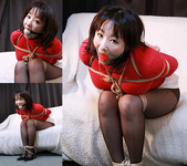 MK13 Japanese MILF Miki Bound and Gagged in Red Sweater Part2