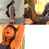 [Bonus video with Miyazaki Aya foot torture and tickling series 1-3 at once DL
