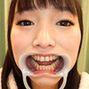 [Dental fetish] good teeth hidden in the cool River Aya-CHAN's lovely mouth! [Cool River,, sound]