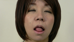 [Full HD and SD] Kiss face Mania shortcut Anna's too erotic kissing face! Hen