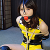 HK10 Japanese Race Queen Hiroko Bound and Gagged Part5
