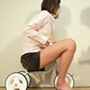 Even the beautiful legs of motorcycles and tricycles Chan aboard 3-wheelers in a miniskirt! Edition [digital photos]
