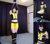 HK6 Japanese Race Queen Hiroko Bound and Gagged Part1