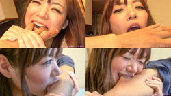 [Biting fetish] Mizuki NAO-Chan combines the natural teeth a nice bite, please try! (The first part)