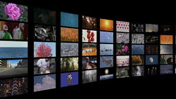 TV background 001 (stock movie HD material)